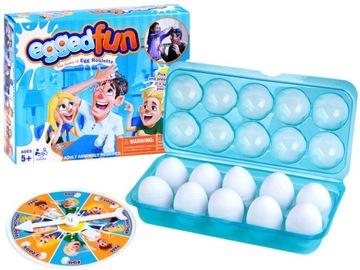 Veselá rodinná hra Prelomiť vajcia na hlave GR0282