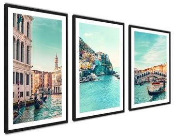 Zarámované plagáty Moderné obrazy Séria BIG Italy