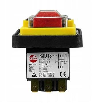 Elektromagnetický spínač KJD18 Trojfázová 400V