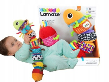 Tomy Lamaze Sensors Caterpillar Mix zápas 27244