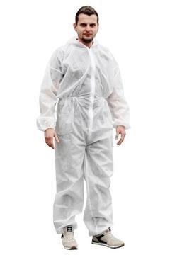 Ochranný oblek s kapucňou Universal White