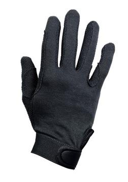 Jazdecké rukavice Busse Baumbolle Black M