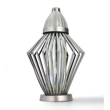 Umelecké sviečky Strieborný diamant NOVINKA