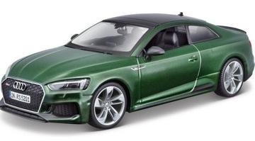Audi Rs 5 Kupé zelené 1:24 Model BBBBBRAGO 21090
