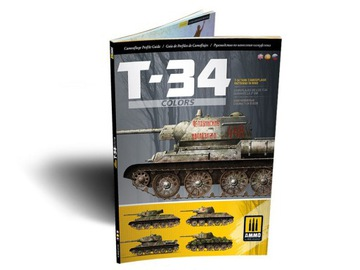 T-34 Tank Camouflage vzory WWII A.MIG6145 AMMO