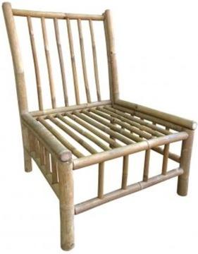 Veľká Drevená stolička BAMBOO Royal Patio
