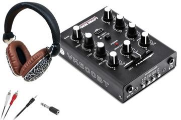 Nastaviť pre DJ Mixér s BT slúchadlami