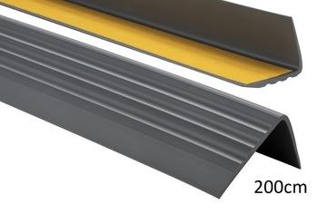 Protišmykový schodiskový profil 50x40 2,0 m PREMIUM