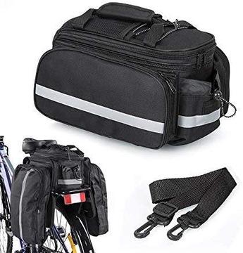 Bike Bag Trunk Cyklistika Sakwa Kufer 30l