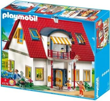Rodinná zábava Playmobil 4279 Rodinný dom
