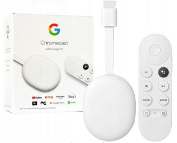 Google Chromecast 4.0 Smart TV UHD 4K HDR pilot