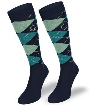 Detské koňské ponožky - 80% bavlna