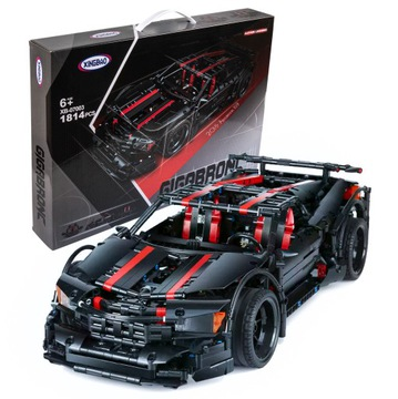 Tehly Technic Nissan GTR Car 1814 Prvky