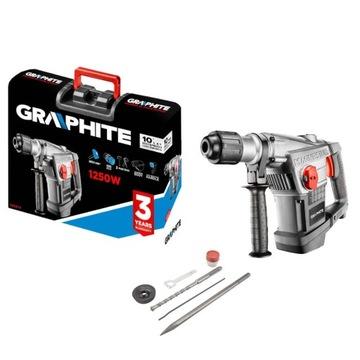 GRAPHITE SDS MAX PRÍPAD KLADIVA NA VPLYV 1250W 58G874
