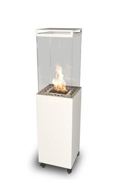 Maják - Biely záhradný plynový ohrievač
