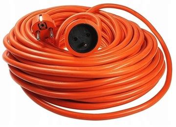 Predlžovací kábel 30m Silná záhradná konštrukcia 3x2,5mm