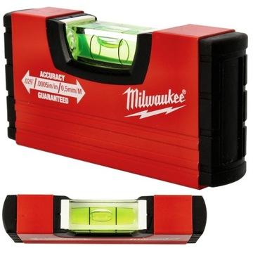 Úroveň Mini Milwaukee Malý 10cm Professional