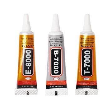 3 Najlepšie lepidlá GLUE B-7000 E-8000 T-7000 15ML