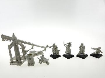 Warhammer Bretonnan Trebuchet Metal Set
