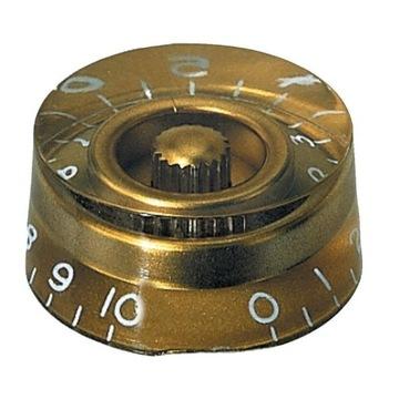 Potenciometer gombík Typ Gibson 6mm Gold 556001