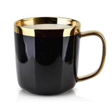 Porcelánový hrmot Glamour Sammy 360ml Black Gold