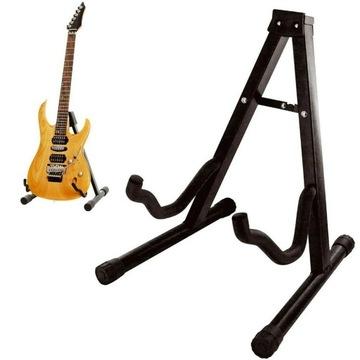 Statív stojí pre gitaru gitarovej gitary