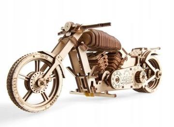 Upears Wooden Model Puzzle 3D motocykel VM-02