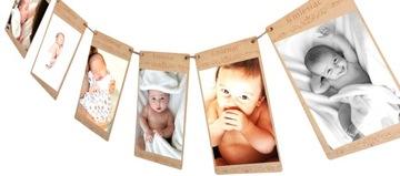 DIEVČA PRE DIEŤA BABY 12 RÁMOV NA ZASADNUTIE OBRÁZKOV