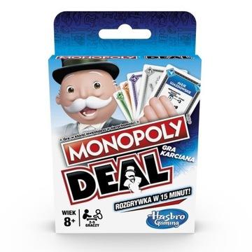Monopoly Deal Pôvodná karta Hra Monopolné karty