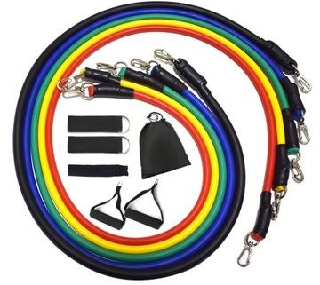 Odporová guma pre fitness cvičenia 5ks - Expandér