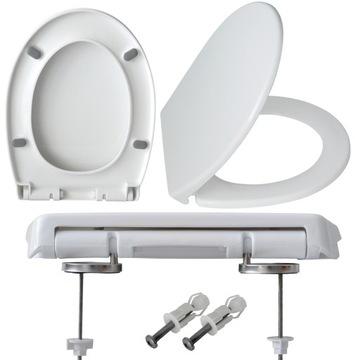 Tvrdé toaletné doska slow-time drenage!