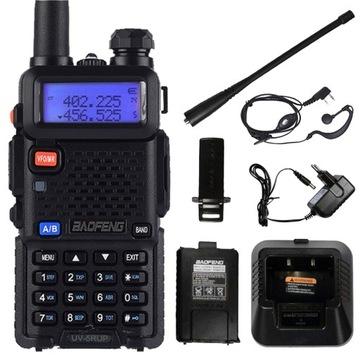 Rádio BAOFENG UV-5RUP 8 W. Vysielačka MOC
