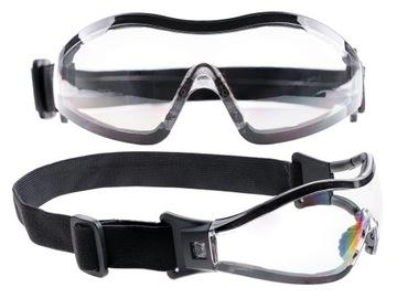 Tactical Commando - Clear Parašute okuliare