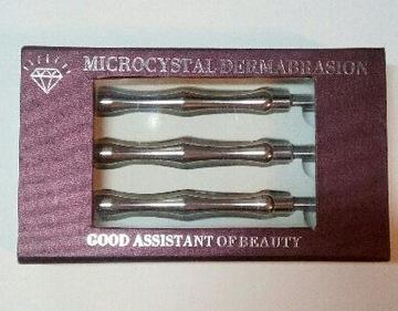 Rukoväť pre mikrodermabrázie sada 3ks