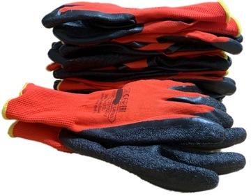 Rukavice Pracovné rukavice R10 Latex OP. 10 párov