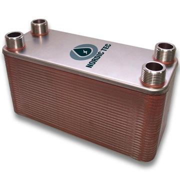 Výmenník tepla 40-doska Nordic TEC 35KW 3/4 '