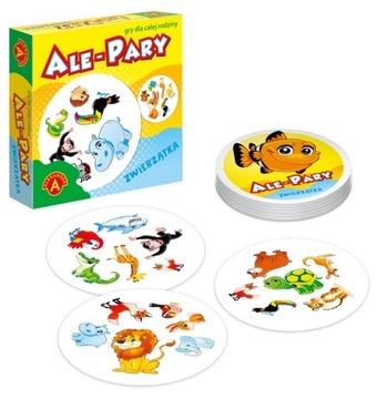 Ale pár zvierat rodinná karta hra Alexande