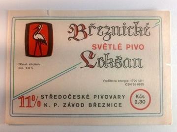Breznicki Loksan Beer Label