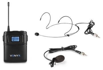 Lavalier BodyPack Vonix WM60B Mikrofón