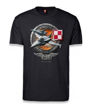 Jastrząb tričko 15 rokov F-16 v Poľsku T-Shirt S