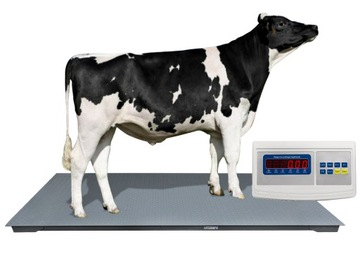 Elektronická mierka 120x220 1.5T 1500 kg poľnohospodárstva