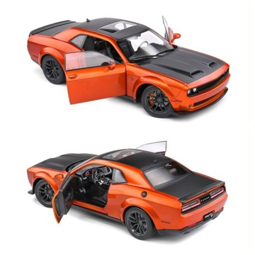 Dodge Challenger Srt Hellcat Orange Solidaido 1:18
