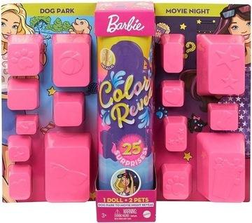 Barbie Color Reveal Maksina prekvapenie GPD56