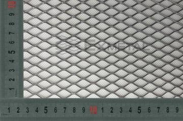 Kovové mriežkové dekoratívne oceľové očko 20x11