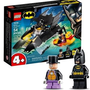 LEGO 76158 BATMAN BATBOAT Penguin URČITÉ RÝCHLO