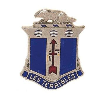 Odznak americká armáda 128. pechotný pluk