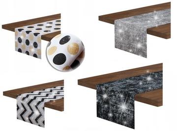 Ozdobná lišta 40x135 bavlna na stôl WZORY