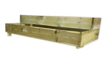 Box, Greenwoman, Herbarium, Sada 124x60x29cm