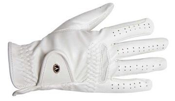 Jazdecké rukavice York Gruzínsko, Biely R. S HS
