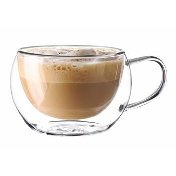 Okuliare tepelných šálok pre cappucinno latte 300ml